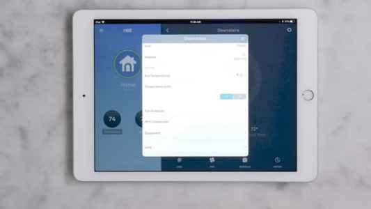 Options in Nest App