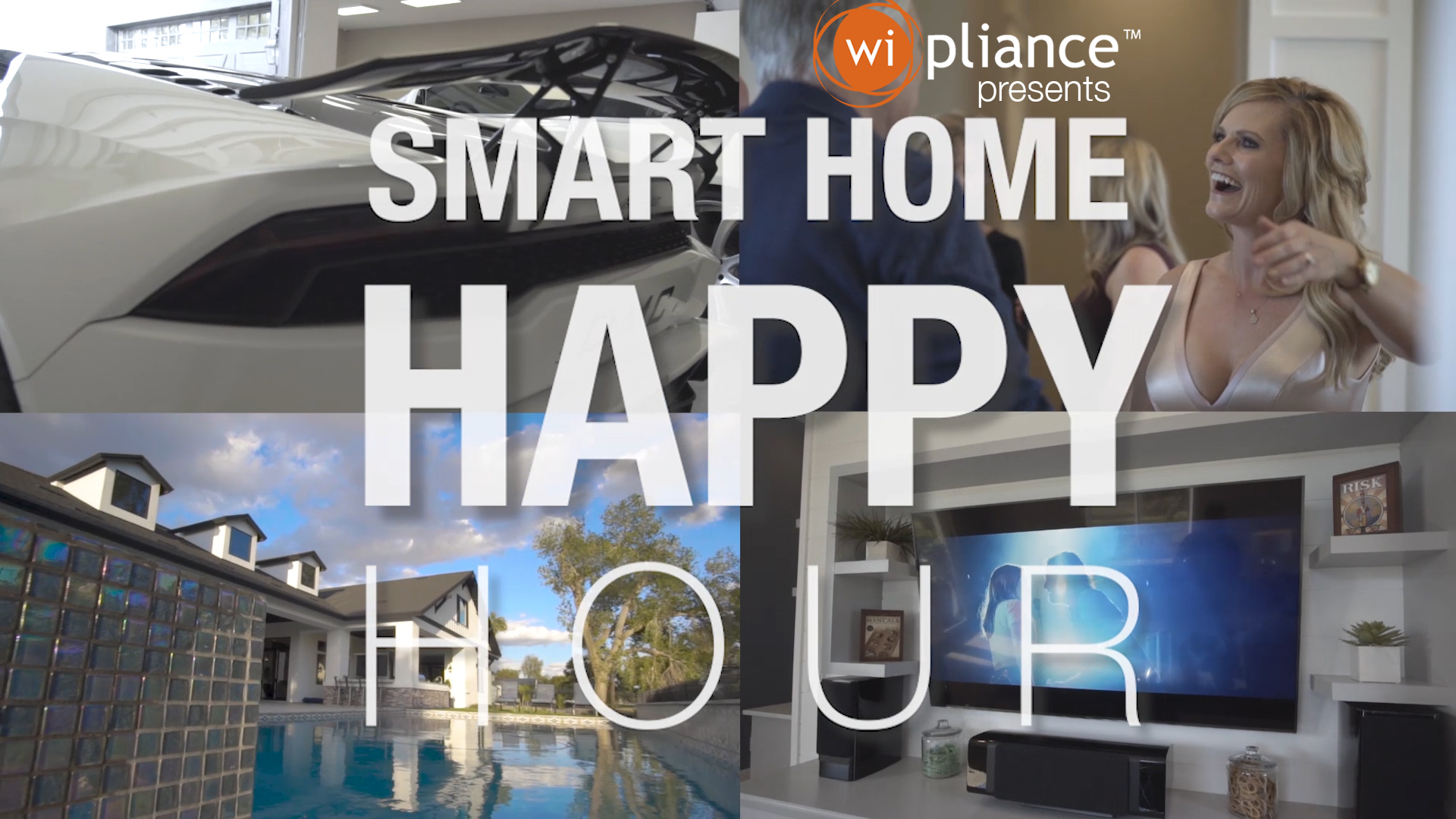 Luxury and Automation at Smart Home Happy Hour