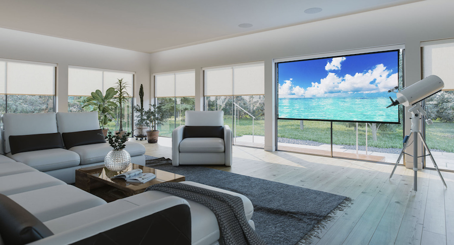 Movie Screens That Are Perfect for The Outdoors, Perfect for Inside