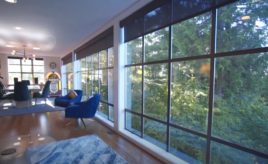 Go Bigger with Sivoia QS Triathlon Motorized Shades from Lutron